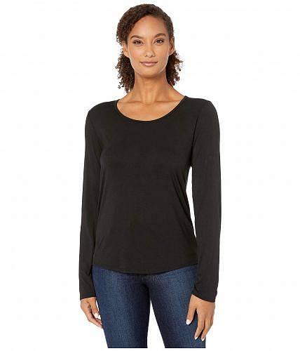 送料無料 Body Language レディース 女性用 ファッション アクティブシャツ Reema Pullover - Black