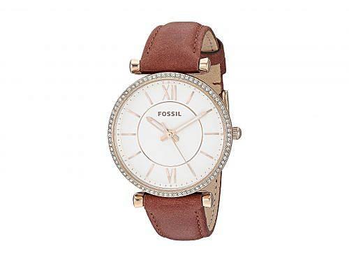 送料無料 フォッシル Fossil レディース 女性用 腕時計 ウォッチ ファッション時計 Carlie - ES4428 - Brown
