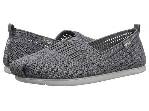送料無料 ボブス スケッチャーズ BOBS from SKECHERS レディース 女性用 シューズ 靴 ローファー ボートシューズ Plush Lite - Peek - Charcoal