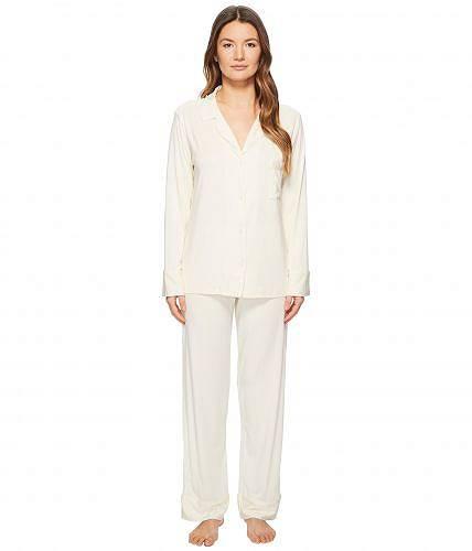メイソンドゥソワール Maison Du Soir レディース 女性用 ファッション パジャマ 寝巻き Monaco PJ Set - Pearl