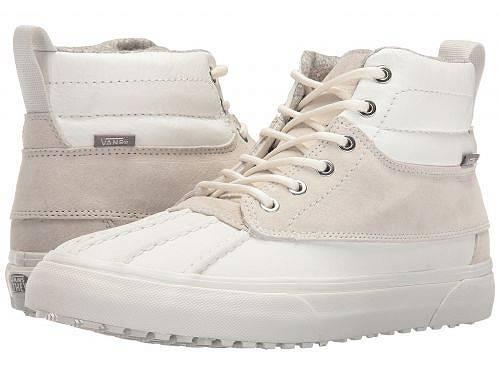 送料無料 バンズ Vans メンズ 男性用 シューズ 靴 スニーカー 運動靴 SK8-Hi Del Pato MTE - (Scotchgard) Blanc De Blanc/Polka Dots
