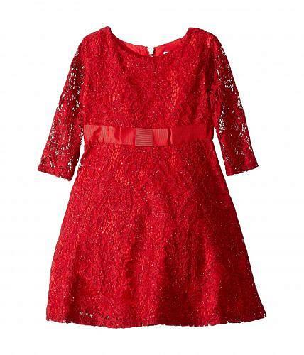 送料無料 USエンジェル Us Angels 子供服 ドレス 女の子用 ファッション Sequin Lace Dress (Toddler/Little Kids) - Ruby