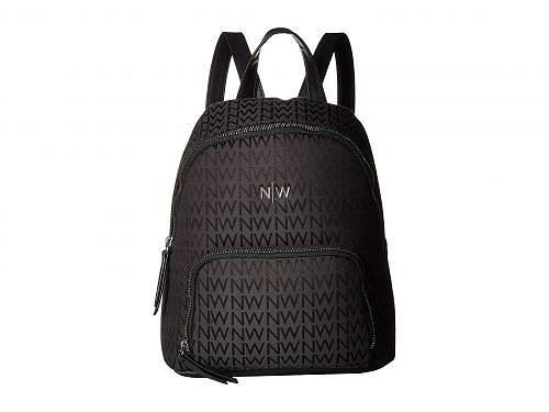 送料無料 ナインウエスト Nine West レディース 女性用 バッグ 鞄 バックパック リュック Floret Backpack - Black/Black 2