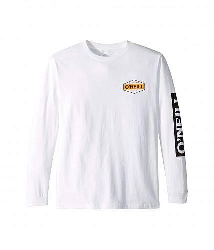 送料無料 オニール O'Neill Kids 男の子用 ファッション 子供服 Tシャツ The Goods Long Sleeve Tee (Big Kids) - White
