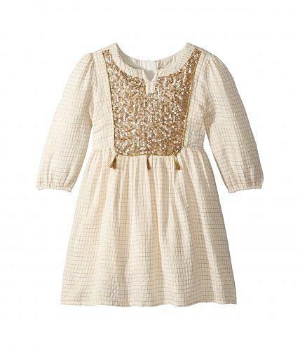 送料無料 ピーク PEEK 女の子用 ファッション 子供服 ドレス パーティドレス Carolina Dress (Toddler/Little Kids/Big Kids) - Gold