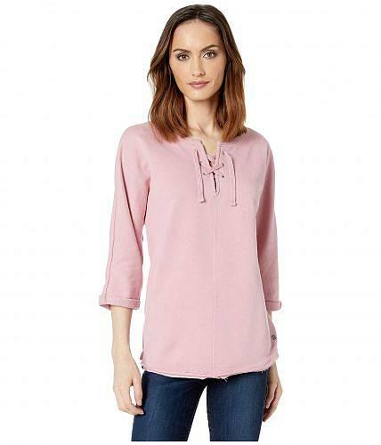 送料無料 ジャグジーンズ Jag Jeans レディース 女性用 ファッション パーカー スウェット Debbie Lace-Up Shirt - Soft Rose