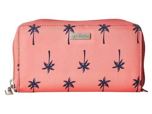 ジュジュビー Ju-Ju-Be レディース 女性用 バッグ 鞄 ハンドバッグ クラッチ Coastal Be Spendy Zip Around Clutch Wallet - Palm Beach