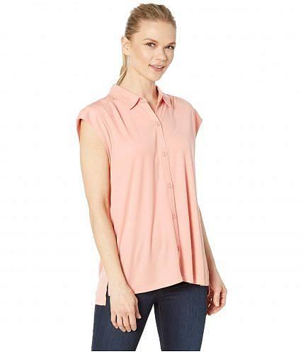 カーブデザイン Carve Designs レディース 女性用 ファッション ボタンシャツ Mikala Top - Peach