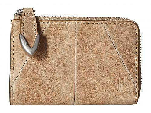 フライ Frye レディース 女性用 ファッション雑貨 小物 財布 小銭入れ カードケース Jacqui Small L Zip Wallet - Sand Smooth Pull Up