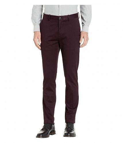 ペリーエリス Perry Ellis メンズ 男性用 ファッション パンツ ズボン Slim Fit Total Stretch Resist Spill Chino - Port