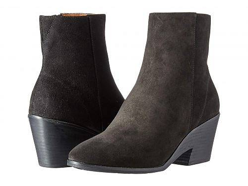 Gentle Souls by Kenneth Cole レディース 女性用 シューズ 靴 ブーツ アンクルブーツ ショート Blaise Wedge Bootie - Black Suede