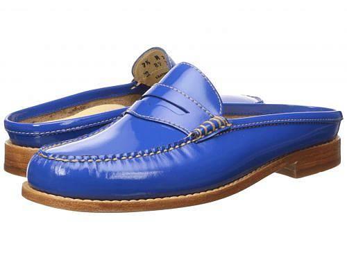 G.H. Bass & Co. レディース 女性用 シューズ 靴 ローファー ボートシューズ Wynn - Cobalt