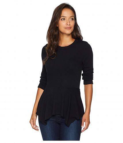 カレンケーン Karen Kane レディース 女性用 ファッション セーター 3/4 Sleeve Peplum Sweater - Black