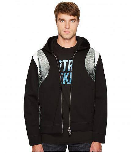 ディスクエアード2 DSQUARED2 メンズ 男性用 ファッション パーカー スウェット Evening Trekking Zip-Up Hoodie - Black/White/Silver