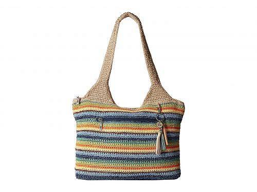 送料無料 サク The Sak レディース 女性用 バッグ 鞄 トートバッグ バックパック リュック Casual Classics Large Tote - Malibu Stripe