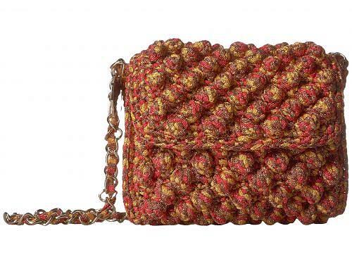 送料無料 ミッソーニ M Missoni レディース 女性用 バッグ 鞄 バックパック リュック Spacedye Lurex Raffia Bag - Saffron