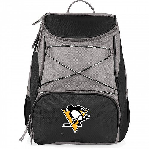 PICNIC TIME Pittsburgh Penguins 20-Can PTX Cooler バックパック Black 保冷 リュックサック キャンプ【送料無料】【代引不可】【あす楽不可】