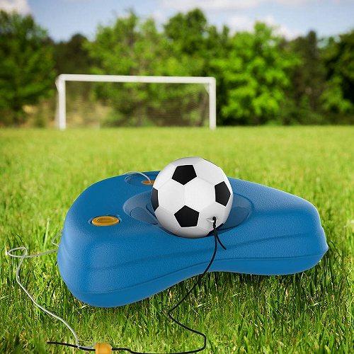 お祝いやプレゼントにも Hey Play Soccer Rebounder-Reflex Training Set-Kids 人気商品 Sport Practice Equipment トレーニング道具 用品 販売 サッカー 代引不可 フットサル by 送料無料 あす楽不可