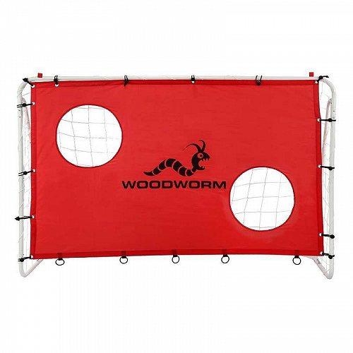 Woodworm 金属製ゴール 1.83 m x 1.22 mSoccer Goal with Target Nets サッカー・フットサル トレーニング道具・用品【送料無料】【代引不可】【あす楽不可】