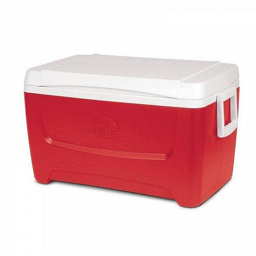Igloo Island Breeze 48-Quart Cooler Red アウトドア 釣り クーラーボックス【送料無料】【代引不可】【あす楽不可】