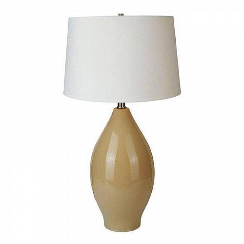 Ore International Ceramic Table Lamp Beige テーブルライト 照明器具 アメリカ【送料無料】【代引不可】【あす楽不可】
