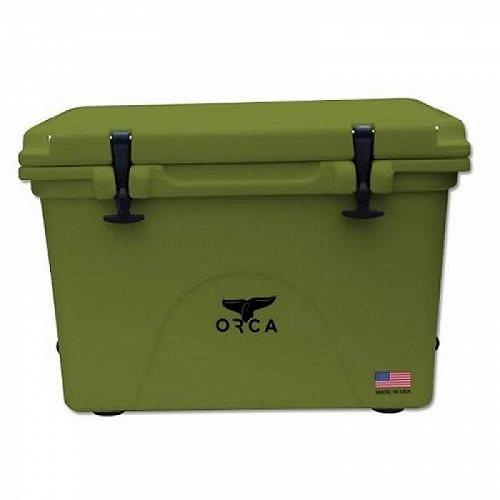Orca Coolers Orca Hard Sided 58-Quart Classic Cooler Green アウトドア 釣り クーラーボックス【送料無料】【代引不可】【不可】