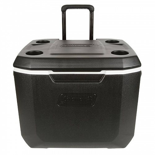 Coleman 50-Quart Xtreme 5-Day Heavy-Duty Cooler with Wheels Black アウトドア 釣り クーラーボックス【送料無料】【代引不可】【あす楽不可】