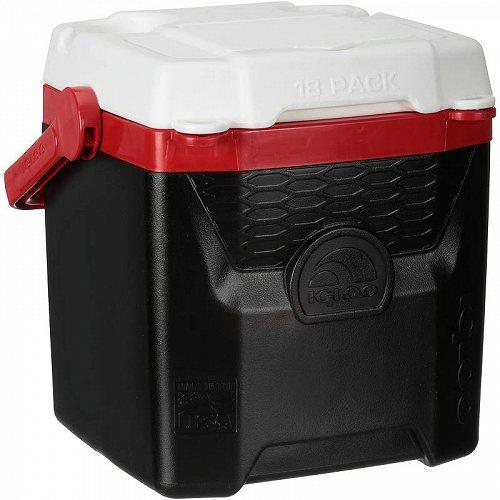 Igloo (R) Quantum(TM) 12 Quart Black Personal Cooler Black/Red アウトドア 釣り クーラーボックス【送料無料】【代引不可】【あす楽不可】