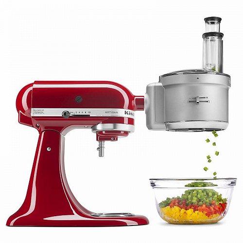 KitchenAid キッチンエイド Food Processor with Commercial Style Dicing キット スタンドミキサー パーツ・アタッチメント【送料無料】【代引不可】【不可】