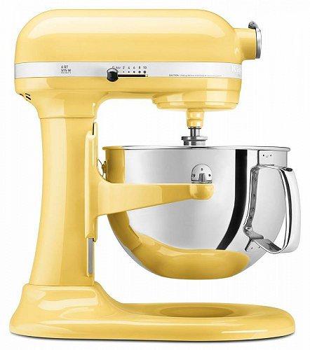 KitchenAid キッチンエイド RKP26M1XMY 6 Qt. Professional 600 Series Bowl-Lift Stand Mixer Majestic Yellow キッチンエイド スタンドミキサー【送料無料】【代引不可】【不可】