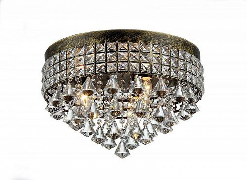 Warehouse of Tiffany Melly 3-light アンティーク 16-inch クリスタル Chandelier おしゃれ シャンデリア【送料無料】【代引不可】【あす楽不可】
