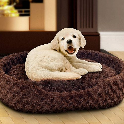 PETMAKER Small Cuddle Round Plush Dog Pet Bed by ペット ベッド・ソファー【】【】【あす楽不可】:グッズ×グッズ