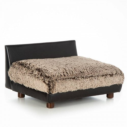 Club Nine Pets Roma Orthopedic Dog Bed Small Brown ペット ベッド・ソファー【送料無料】【代引不可】【不可】