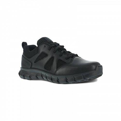 お祝いやプレゼントにも Reebok Work リーボック Sublite Cushion Tactical RB8105 Slip 送料無料 高級な Resistant タクティカルブーツ 代引不可 あす楽不可 Wide 在庫処分 Men's Shoe Black