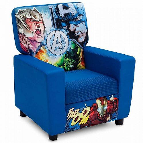 ユース用 お子様専用ソファ High Marvel 【送料無料】【代引不可】【あす楽不可】 Children 椅子 Chair チェア マーヴル Avengers Delta Upholstered Back by