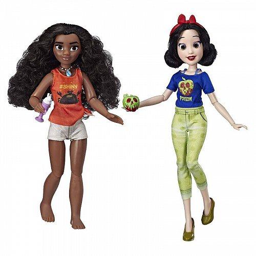 Disney Princess ディズニープリンセス Ralph Breaks the Internet Movie: Moana and Snow White ディズニープリンセス 人形【送料無料】【代引不可】【あす楽不可】