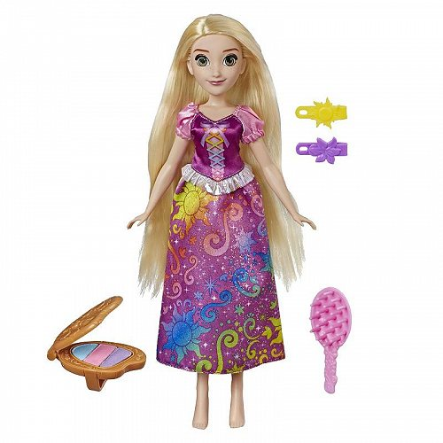 Disney Princess ディズニープリンセス Rainbow Styles Rapunzel Hair Play Doll ディズニープリンセス 人形【送料無料】【代引不可】【不可】