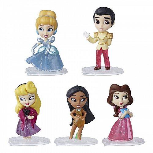 Disney Princess ディズニープリンセス Comics Glitter Pack Includes 5 Dolls ディズニープリンセス 人形【送料無料】【代引不可】【不可】
