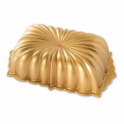 【送料無料】【代引不可】【あす楽不可】 Ware Loaf Classic  Fluted Gold Nordic Premier ノルディックウェア Pan