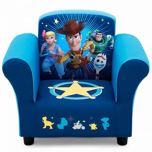 Disney ディズニー トイストーリー キッズ 子供 Upholstered Chair by Delta Children お子様専用ソファ チェア 椅子 【送料無料】【代引不可】【あす楽不可】