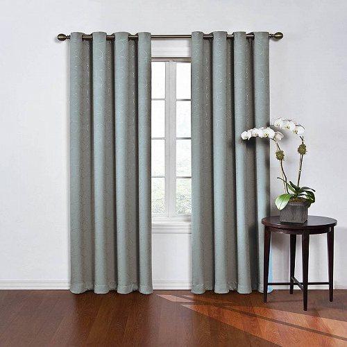 カーテン Blue Panel Round Darkening Room Round 子供部屋 Curtain and Window 【送料無料】【代引不可】【あす楽不可】 Eclipse