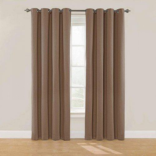 Nadya Darkening Eclipse Solid 子供部屋 Room Window Brown Panel カーテン 【送料無料】【代引不可】【あす楽不可】 Curtain