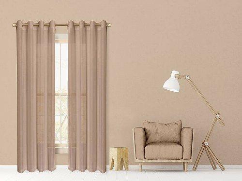 お祝いやプレゼントにも Dainty Home Malibu Window Curtain of 激安挑戦中 84 2 Set Panel ギフ_包装