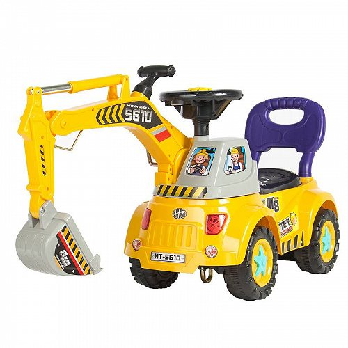 Best Choice Products ベスト チョイス プロダクト Ride-On Excavator Digger Scooter Pulling Cart Pretend Play Construction Truck ベストチョイスブランド   【送料無料】【代引不可】【あす楽不可】