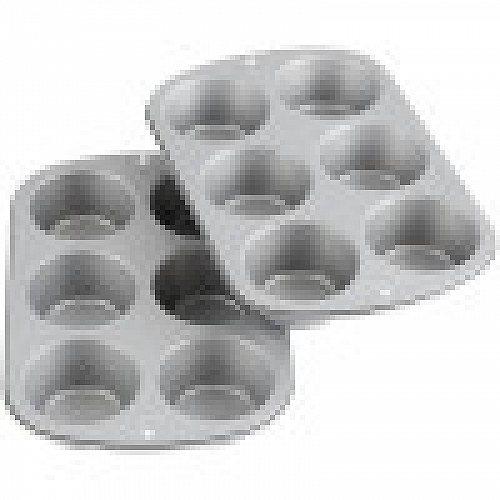 Wilton ウィルトン Recipe Right Jumbo Non-Stick Muffin Pan Multipack 6-Cup ウィルトン  【送料無料】【代引不可】【あす楽不可】