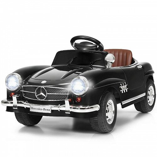 Costway MERCEDES BENZ 300SL AMG RC Electric Toy キッズ 子供 Baby Ride on Car Black メルセデス・ベンツ 電動自動車  【送料無料】【代引不可】【あす楽不可】