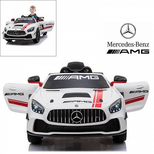 Modern-Depo Mercedes Benz AMG GT4 Electric Ride On Car with Remote Control for キッズ 子供 12V Power Battery Official Licensed キッズ 子供 Car with メルセデス・ベンツ 電動自動車  【送料無料】【代引不可】【不可】