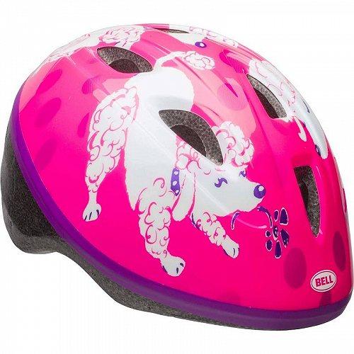 お祝いやプレゼントにも Bell ベル Sprout 結婚祝い 女の子用 Bike ヘルメット 激安卸販売新品 Pink Purple 送料無料 子供用 Infant 1+ あす楽不可 代引不可 Poodles