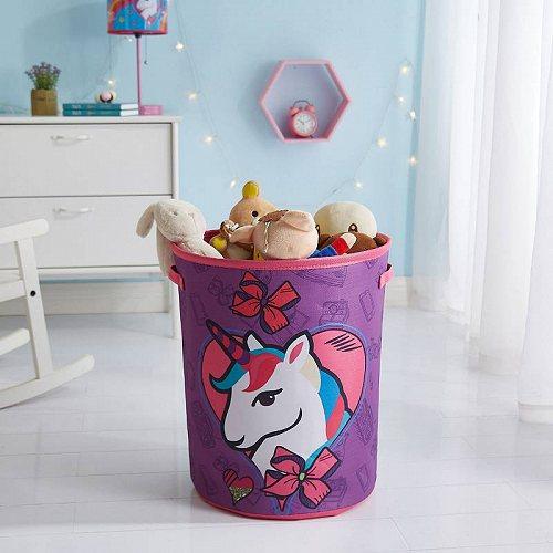 お祝いやプレゼントにも Nickelodeon ニコロデオン Jojo Siwa Circular 代引不可 Storage ファクトリーアウトレット 年中無休 送料無料 あす楽不可 Bin おもちゃ箱