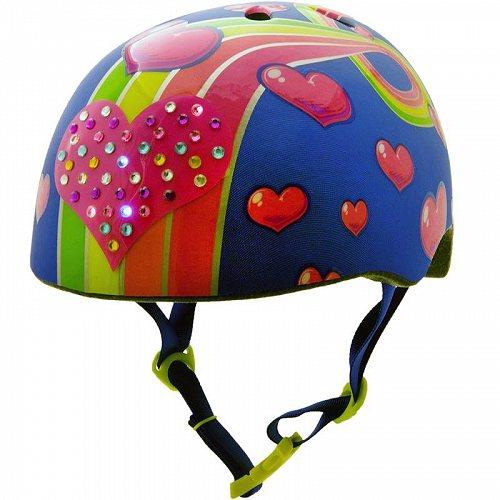お祝いやプレゼントにも Raskullz Sparklez LED 信用 Rainbow Road Child 子供用 Multisport あす楽不可 ヘルメット 送料無料 数量は多 代引不可